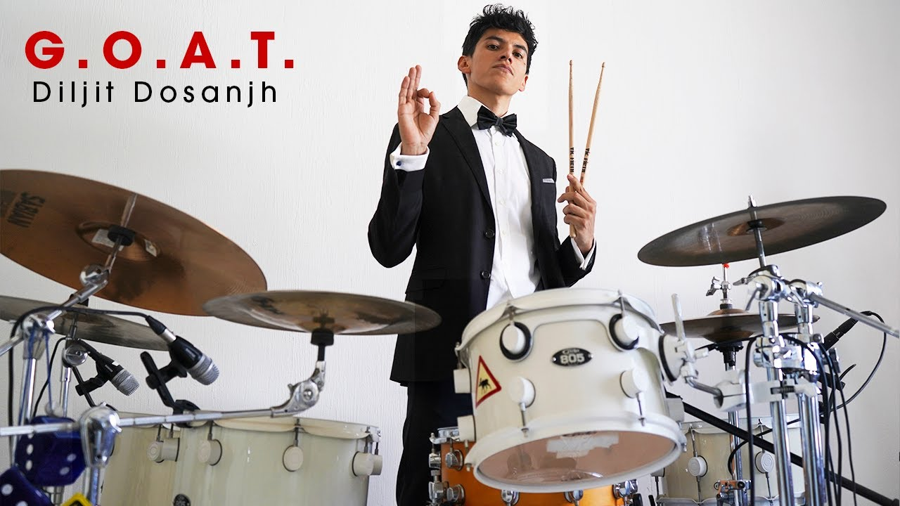 G.O.A.T. - Diljit Dosanjh (Drum Cover)