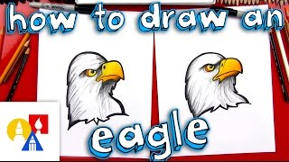 eagles drawing lesson