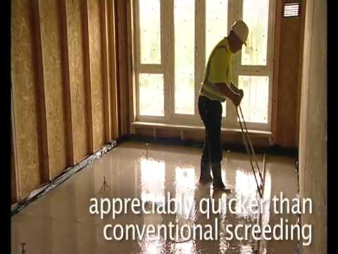 Floor Screed for underfloor heating, Screedflo Ireland