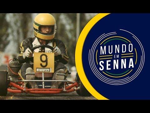 Ayrton Senna E O Kart | Mundo Em Senna #5
