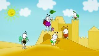 Bobita si Buburuza Castelul de Nisip