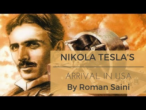 Tesla's arrival in USA Till Westinghouse's Investment - War of Currents By Roman Saini