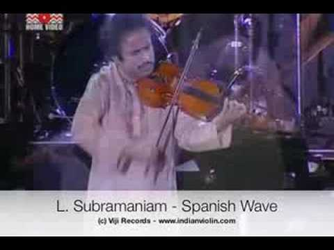 L Subramaniam - Spanish Wave Live - Global Fusion Music