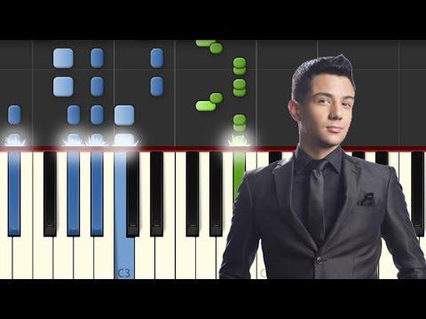 Dime Que Se Siente  Luis Coronel  Piano Tutorial  Synthesia  Notas Musicales