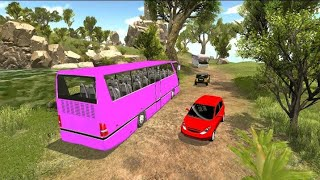 Offroad Hill Climb Bus Racing | New Bus Station Android Game Play | screenshot 3