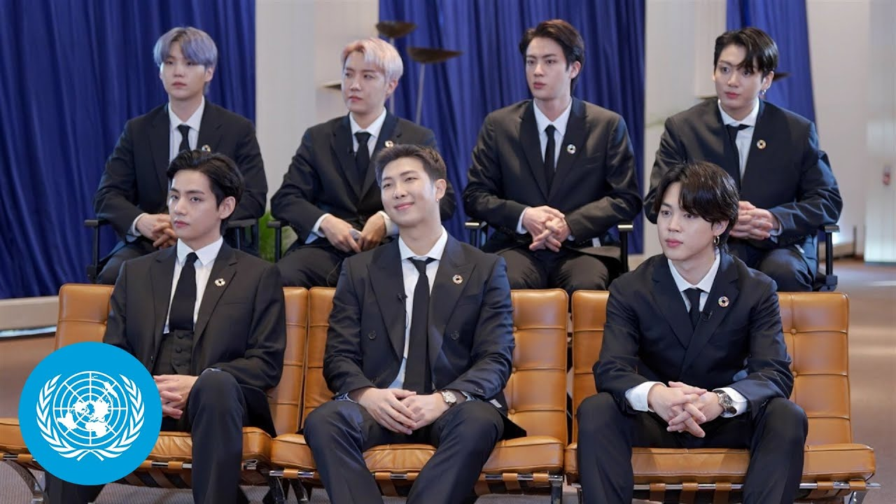 Download BTS Shine Spotlight on the United Nations as Envoys of the President of the Republic of Korea