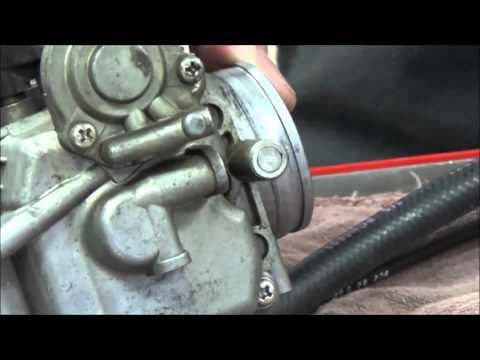 How to remove a welch plug (air fuel screw cap) from any motorcycle or small engine carb carburetor