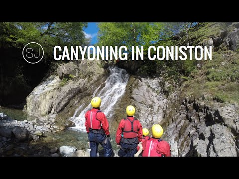 CANYONING IN CONISTON, LAKE DISTRICT - GO PRO