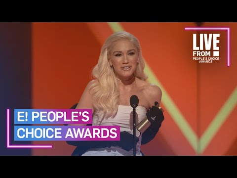 Gwen Stefani Accepts the 2019 PCAs Fashion Icon Award