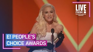 Gwen Stefani Accepts the 2019 PCAs Fashion Icon Award | E! People's Choice Awards