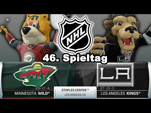 NATIONAL HOCKEY LEAGUE [NHL][60fps][Deutsch] #046 - Los Angeles Kings - Minnesota Wild ★ NHL 16