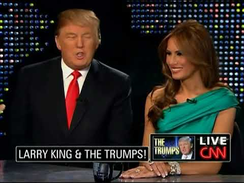 CNN 20100429 010000 Larry King Live 4-year old Barron Trump speaks with Slovenian accent