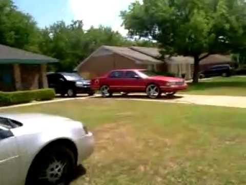 99 Cadillac Deville On 24 S Youtube