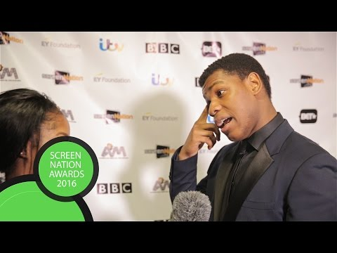 John Boyega speaks on Diversity in the film and television industry | Screen Nation Awards 2016