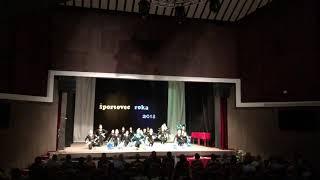 Mažoretky Varanovia Športovec roka 2018 choreografia Páv