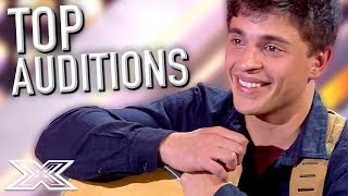 Video TOP 5 Auditions on X Factor Spain! | X Factor Global download MP3, 3GP, MP4, WEBM, AVI, FLV Juni 2018