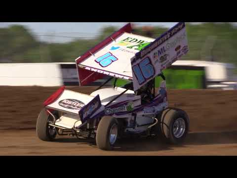 5.25.18 Chris Andrews Qualifying at Attica Raceway Park