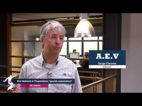 AE Valves - • Prix Wallonie à l'Exportation « Grande exportation »