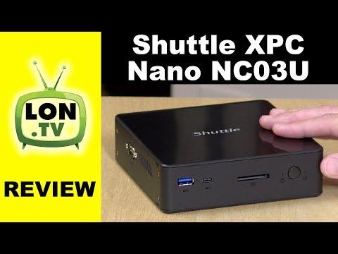 Shuttle XPC Nano NC03U Mini PC Review - Same Guts as a