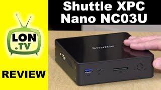 Shuttle XPC Nano NC03U Mini PC Review - Same Guts as a Chromebox