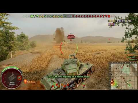 World of Tanks PS4 - STA-2 3k dmg [VENGA] Platoon