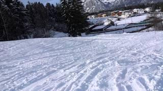 Snowboard day in Innsbruck