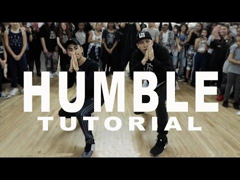 """HUMBLE"" - Kendrick Lamar Dance TUTORIAL   @MattSteffanina Choreography   DANCE TUTORIALS LIVE"