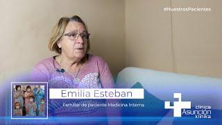 """Emilia Esteban: """"Las limpiadoras de la clínica cumplen una función fundamental en Asunción Klinika"""""""