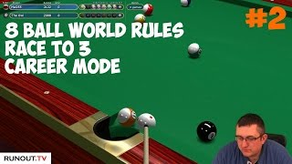 Virtual Pool 4   8 Ball World Rules with Mal255 #2 Two Matches