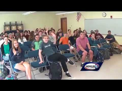 School visit: John Stark Regional High School in Weare