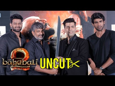 Baahubali 2 The Conclusion TRAILER LAUNCH Full Event UNCUT | Karan Johar, SS Rajamouli,