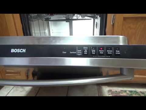 how to fix bosch dishwasher