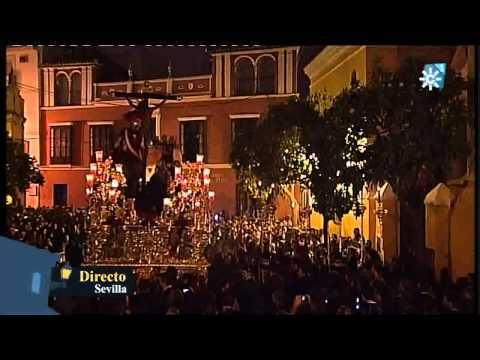 Semana Santa de Sevilla 2011 - Entrada del Cristo de la Sagrada Lanzada