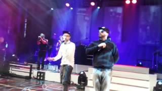 Sido feat. Mark Forster - Irgendwo wartet Jemand Live Trier Europahalle (13.03.14)