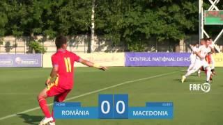 Romania U17 vs FYR Macedonia U17 full match