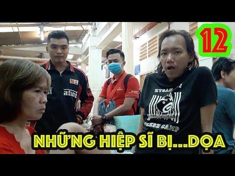 Guufood và các hiệp sĩ thăm Trần Chiêu ở bệnh viện tâm thần