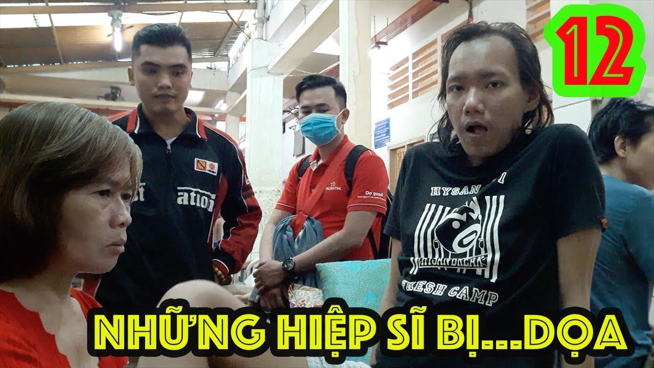 Guufood và các hiệp sĩ thăm Trần Chiêu ở bệnh viện tâm thần - Guufood