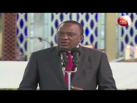 President Uhuru Kenyatta assures disciplined forces of full Government support