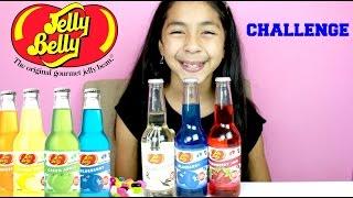 Jelly Belly Soda Taste Challenge    1st Time Taste   B2cutecupcakes