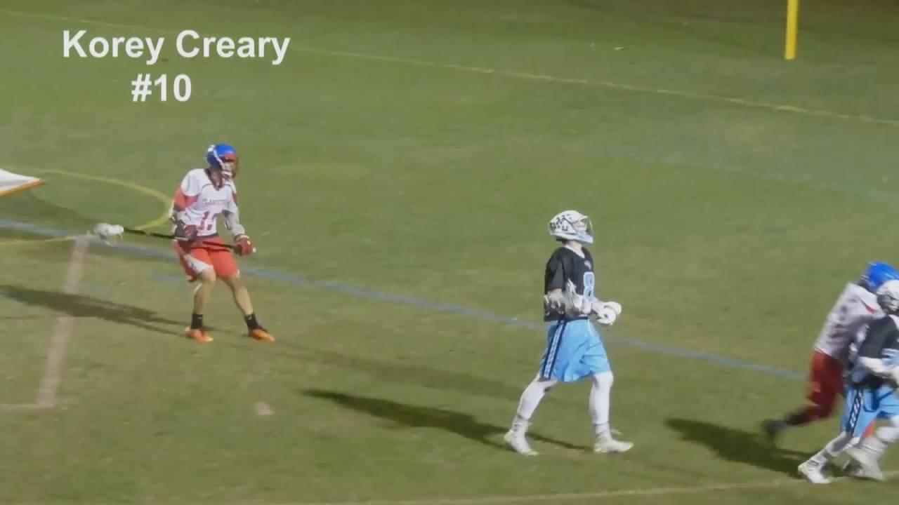 Download Korey Creary 2017 Defense junior year lacrosse highlights