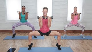 45-Minute Full-Body Toning Workout With Jake DuPree