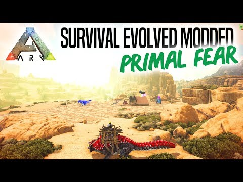 FUNDAMENTET TIL BASEN! - ARK Survival Evolved Ep 9 (Primal Fear Mod Scorched Earth)