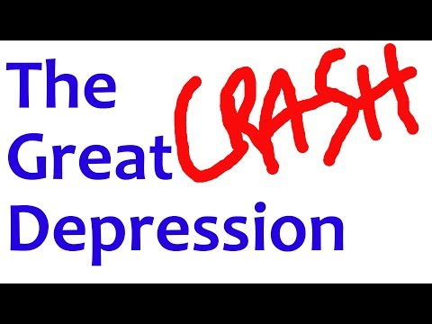 The GREAT DEPRESSION in 4 Minutes