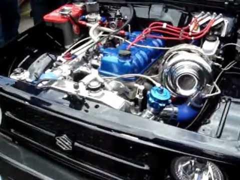 Suzuki Samurai V Engine Swap