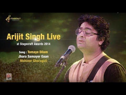 Arijit Singh Sings Mohiner Ghoraguli live...