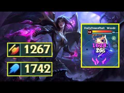 KAI'SA 1200+ AD & 1700+ AP! New Champion Damage Test!