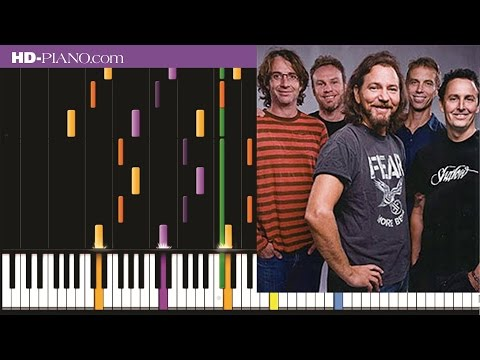 How to play Pearl Jam Better manPiano tutotial100% speed
