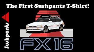 The Sushpants FX16 shirt you