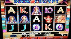 BOOK OF EGYPT Euro Gold PC based (Windows XP) Slot game EMU. MAME.