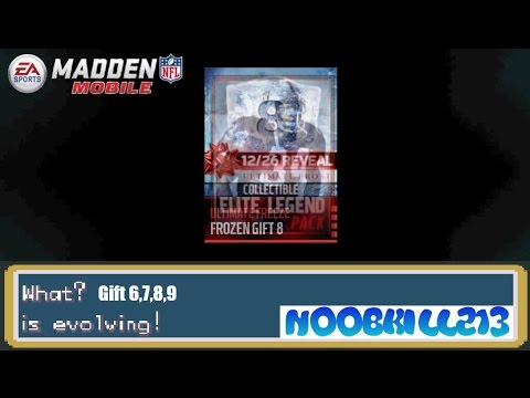 Madden Mobile 16 Frozen Gifts 6-9!! (12/26) - YouTube